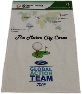 Golf Towel, Golf Outing, Golf Prize, custom made, personalized items